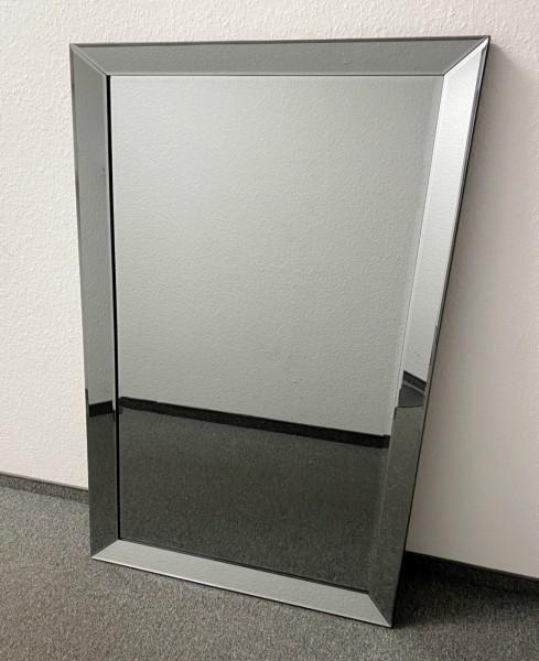 Nobler Wandspiegel Anthrazit 110x80cm Spiegelrahmen von Colmore Spiegel Glasrahmen