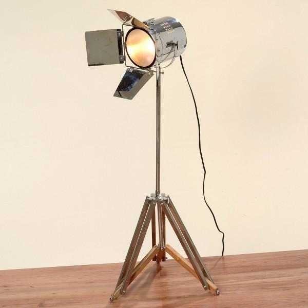 Geniale Studiolampe 100cm Höhe Teleskoplampe Spotlampe Teleskop Stehlampe Spot