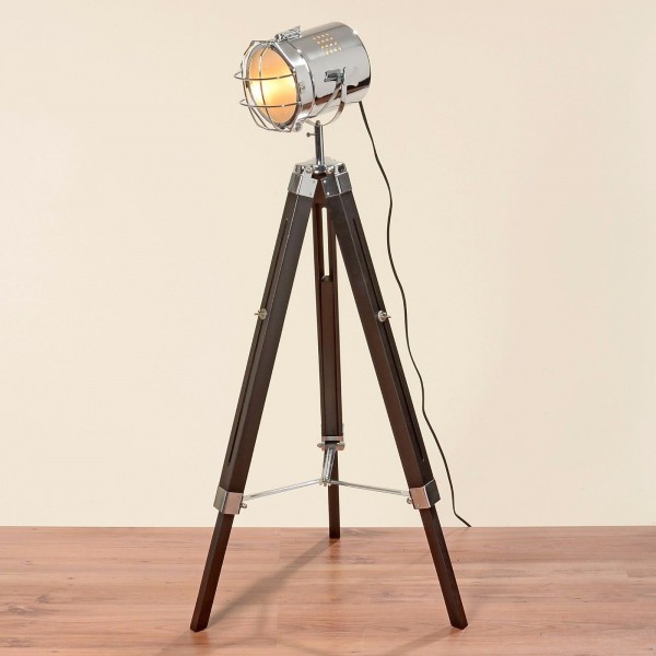 Geniale Studiolampe 144cm Höhe Teleskoplampe Spotlampe Teleskop Stehlampe Spot