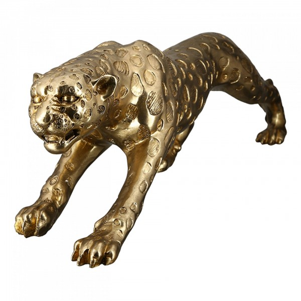 Leopard Gepard Gold 80cm Casablanca Tiger Modell Figur