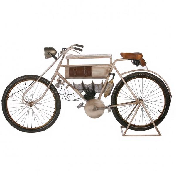 Fahrrad Bar Tisch Casablanca 188cm Metall Regal Sideboard Bike Motorrad
