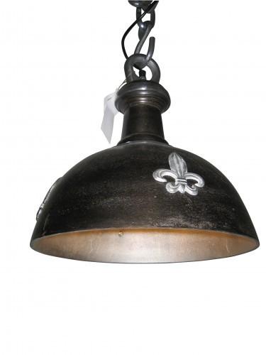 Deckenlampe Vintage Industrie 35cm Schwarz Used Ornamente Lampe Industrielampe