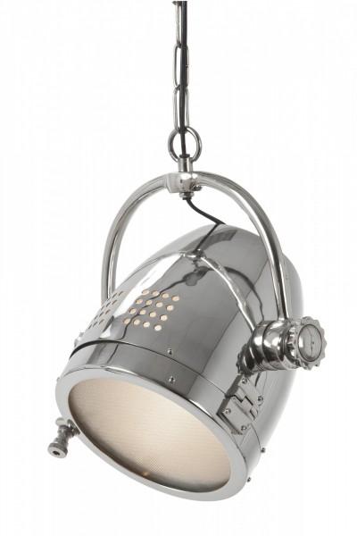 Deckenlampe Taylor Chrom 20x30cm Hängelampe Studio Studiolampe Spot Lampe
