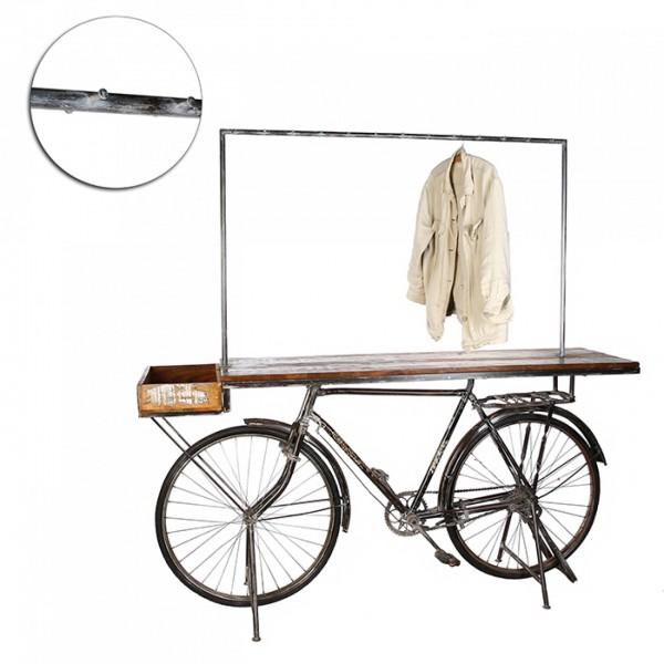 Geniale Fahrrad Garderobe Casablanca Metall Regal Tisch Kleiderständer Bar Bike