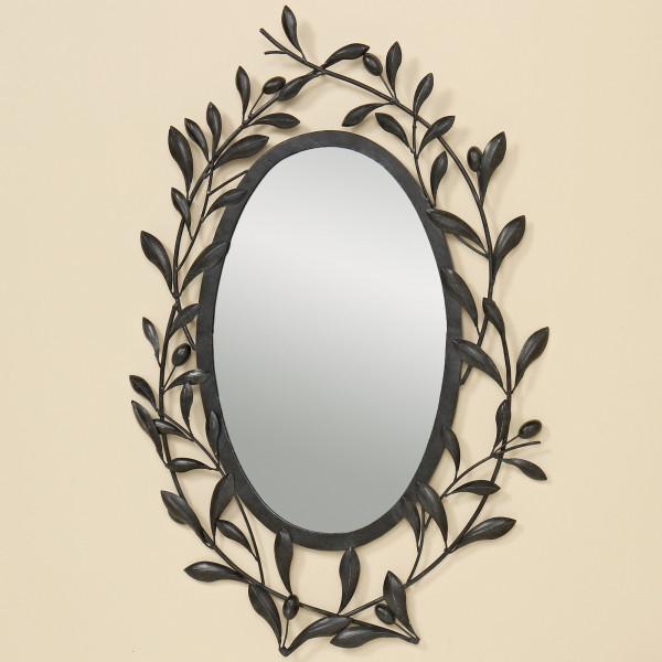 Wandspiegel Toscana 75 x 43cm Spiegel Oliven Italien Blätter Provence