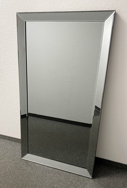 Edler Wandspiegel Anthrazit 130x70cm Spiegelrahmen von Colmore Spiegel Glasrahmen