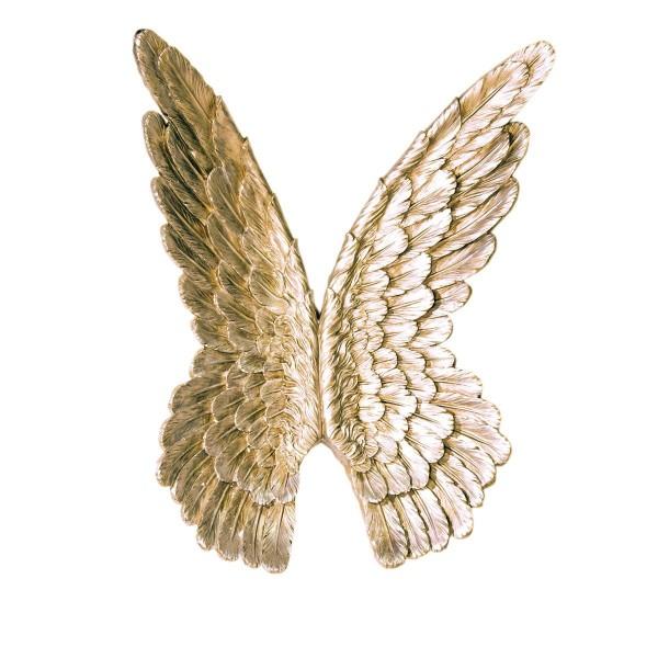 Engelsflügel Gold 94cm Casablanca Gilde Flügel Engel Dekoration Wanddeko