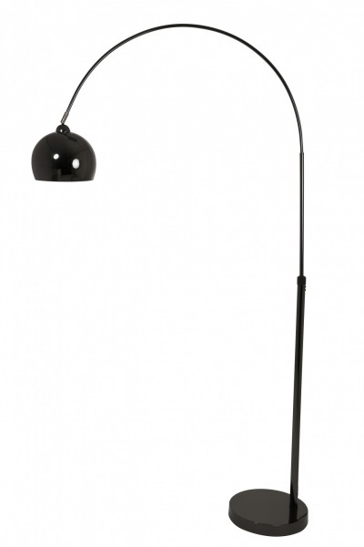 Bogenlampe Forsyth von Light and Living 195cm Schwarz Chrom Lampe Stehlampe