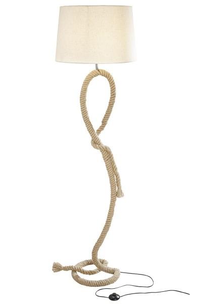 Stehlampe Tau 170cm Casablanca Braun Seil Lampe Stehleuchte Taulampe