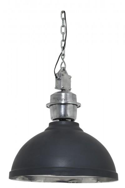 Edle Deckenlampe Clinton Antik Schwarz 52cm Lampe Industry Industrie Industrielampe