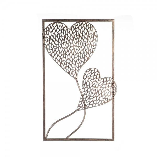 Wand Dekoration Purley Hearts Casablanca Eisen Wanddeko Herz Herzen Bild