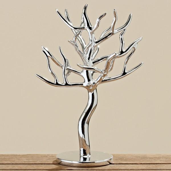 Edler Schmuckbaum Silber 31cm Höhe Schmuckhalter Baum Schmuck