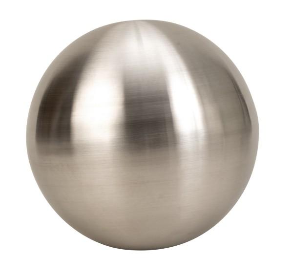 XL Gartenkugel Matt 30 cm aus Edelstahl rostfrei Silber Kugel Dekokugel