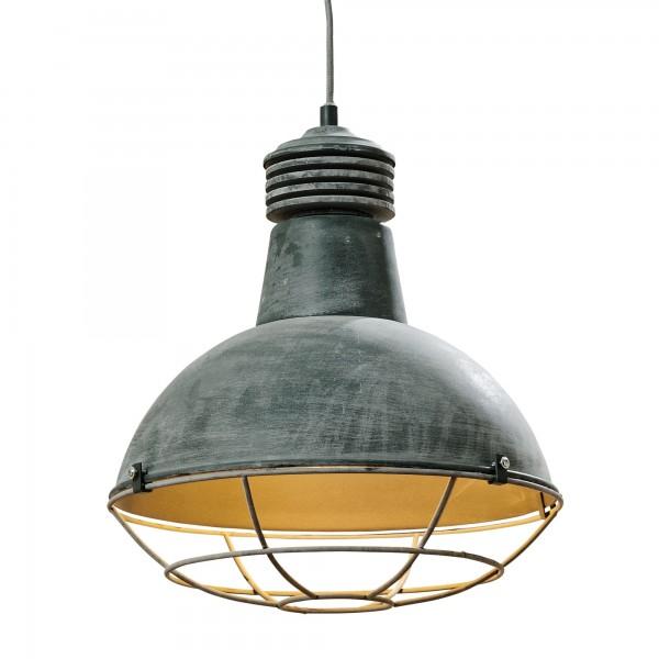 Ausgefallene Industrie Deckenlampe Deckenleuchte Lampe Matt Eisen Fabrik Hängelampe