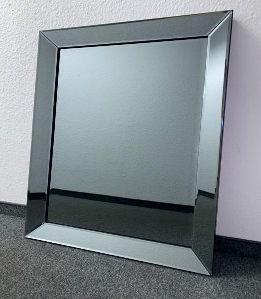 Edler Wandspiegel Anthrazit 50x50cm Spiegelrahmen von Colmore Spiegel Glasrahmen
