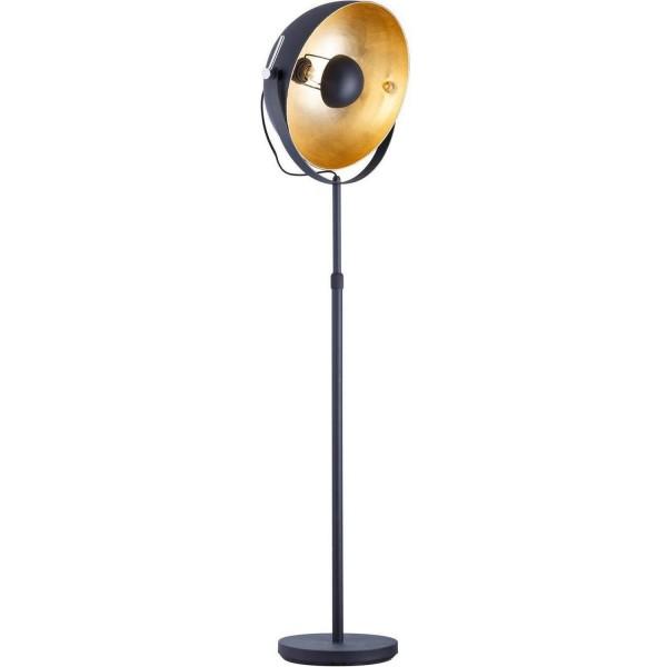 Studiolampe goldener Schirm Gold Stehlampe Lampe Studio Bodenlampe