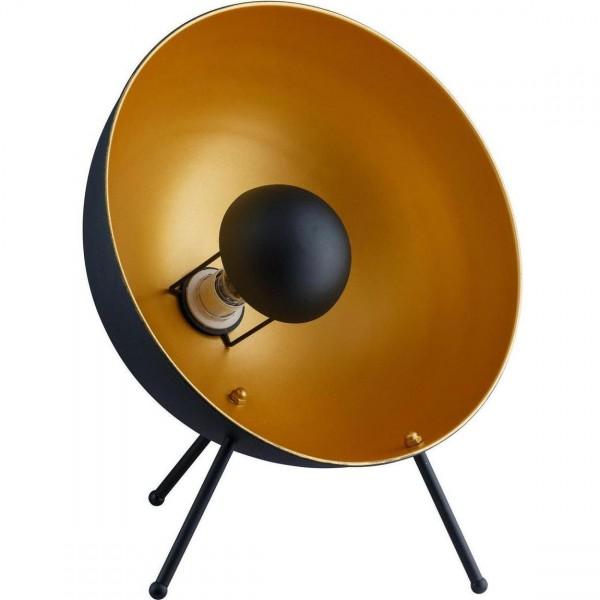 Stehlampe Studio goldener Schirm Gold Tischlampe Lampe Studiolampe