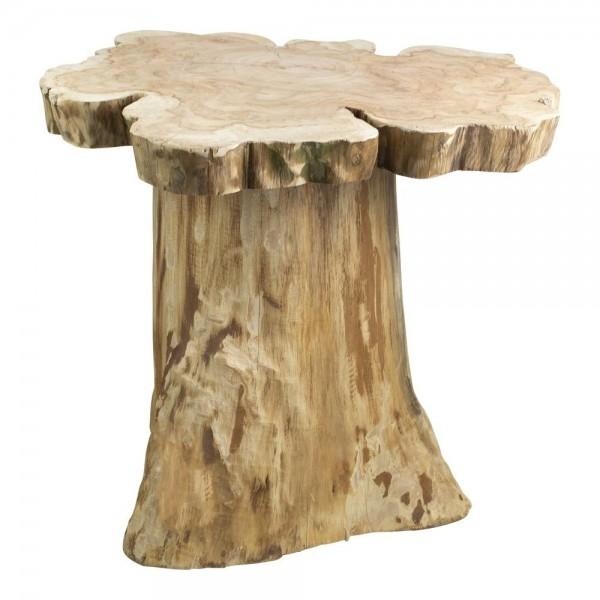 Beistelltisch Tisch Holztisch Baumstamm Baum Natur