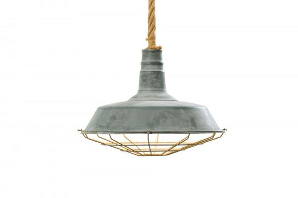 Ausgefallene Deckenlampe Industrie Deckenleuchte Lampe Patina Eisen Fabrik Hängelampe