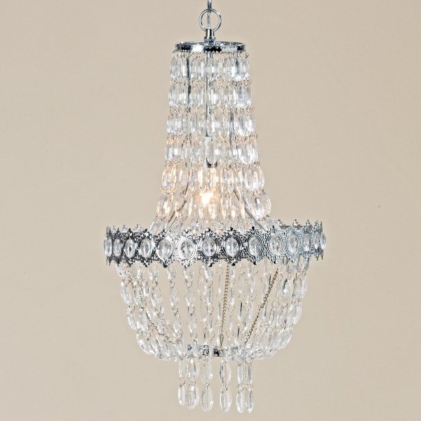Deckenlampe Juliet 55cm Kristall Korbleuchter Lampe Kronleuchter Kristallleuchter