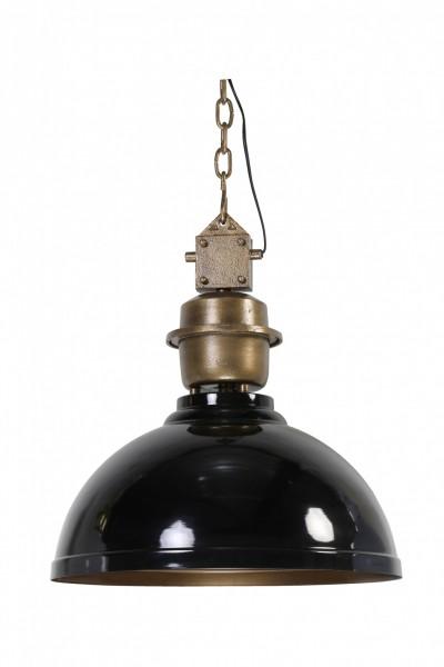 Deckenlampe Clinton Schwarz Bronze 52cm Durchmesser Industrie Industrielampe