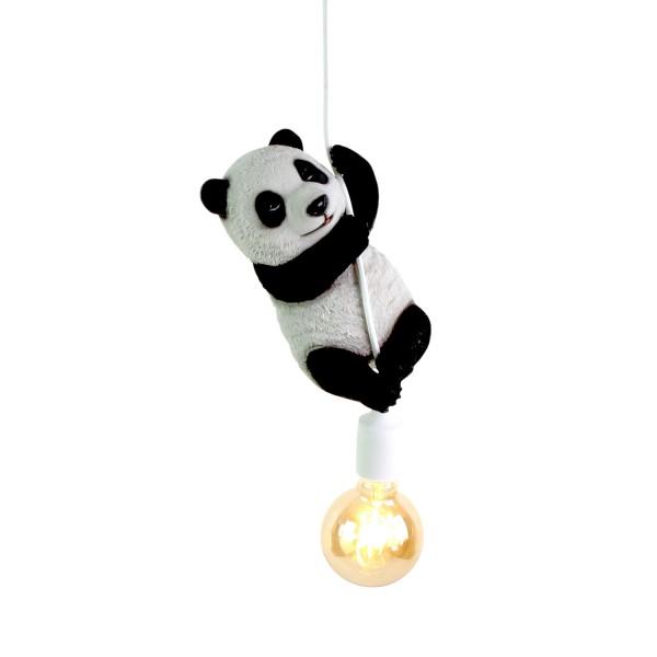 Geniale Hängelampe Panda Lampe Deckenlampe Bär Stofftier Kinderzimmer