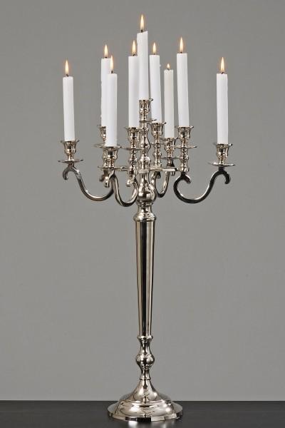 70cm kerzenleuchter silber 9 flammig antik barock dafloxx versand. Black Bedroom Furniture Sets. Home Design Ideas