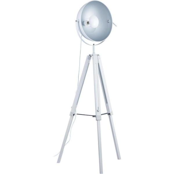 Stehlampe Tripod Weiß Studio Stativ Lampe Stativlampe Teleskop Studiolampe