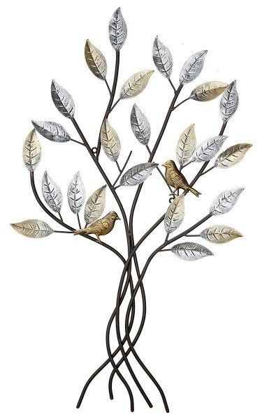Wandobjekt Baum 76cm Casablanca Gilde Wanddeko Dekoration Bild Wanddeko