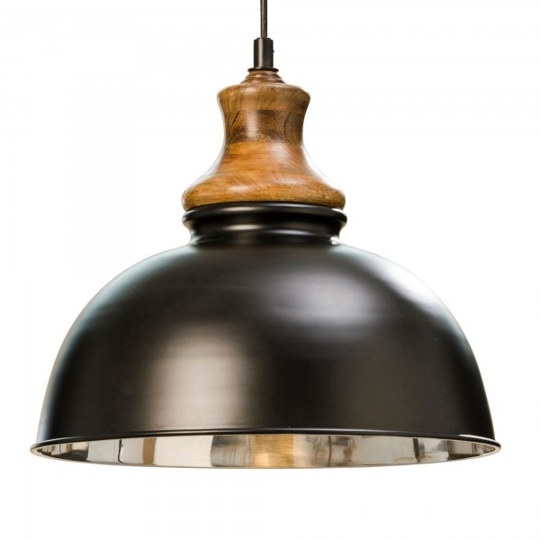 Ausgefallene Deckenlampe Deckenleuchte Lampe Schwarz Aluminium Hängelampe