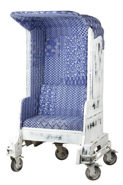 Genialer Sessel Tuk Tuk Einsitzer Casablanca Weiß Autorikscha Sofa Stuhl TukTuk