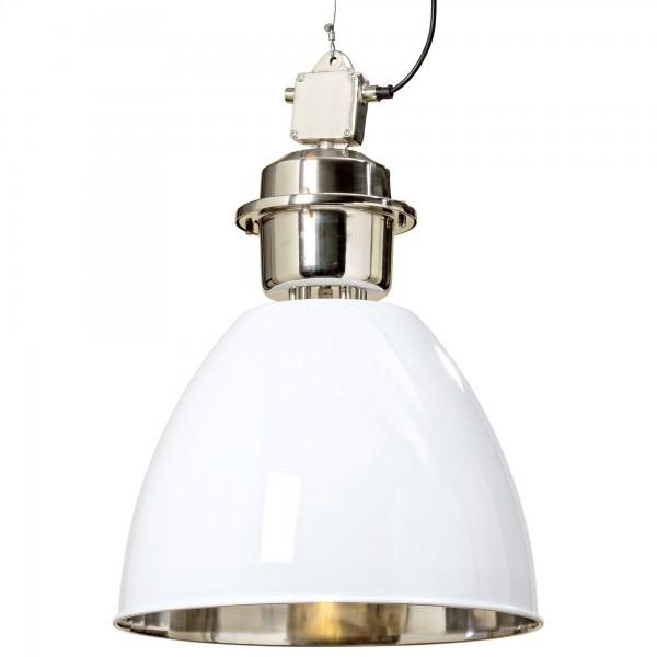 Ausgefallene Deckenlampe Deckenleuchte Lampe Weiß Aluminium Hängelampe