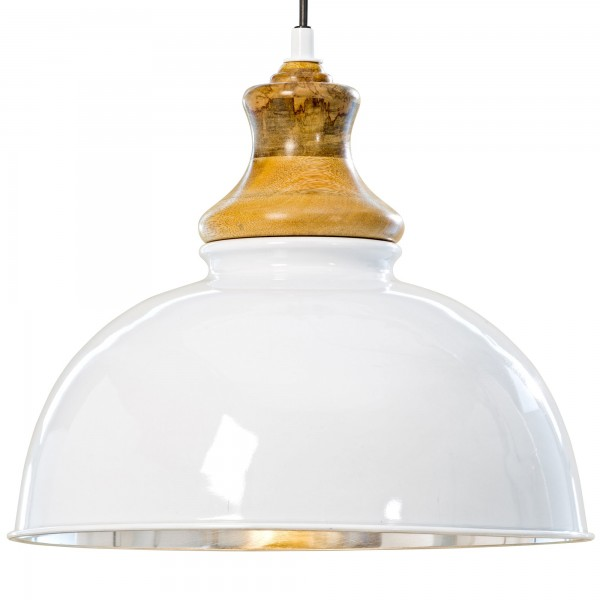 Ausgefallene Deckenlampe Deckenleuchte Lampe Industrie Industry Weiß Aluminium Hängelampe