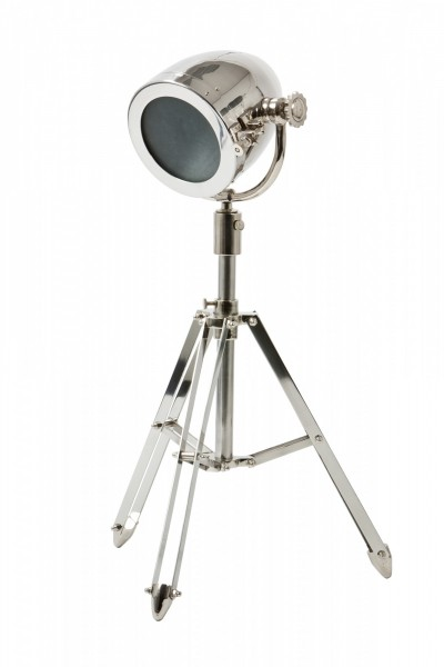 Studiolampe 85cm Höhe Chrom 8164001 Teleskoplampe Spotlampe Stehlampe