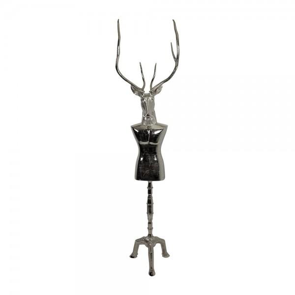 Kleiderständer Wallis Mannequin Schaufensterpuppe Garderobe Kleiderhaken H227cm Rentier Hirsch
