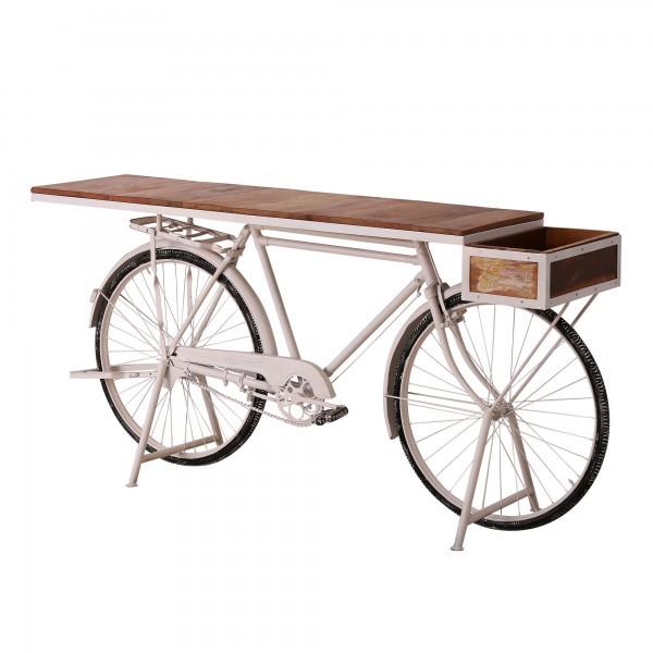 Genialer Fahrrad Tisch Sanna 184cm Metall Regal Sideboard Bar Lastenrad