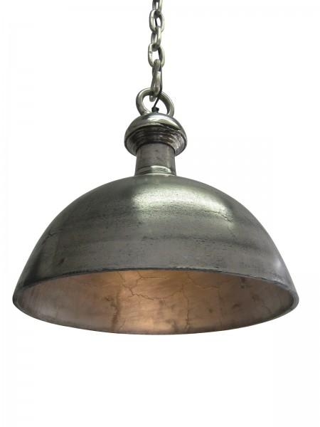 Deckenlampe Vintage Industrie 48cm Raw Nickel Silber Lampe Industrielampe