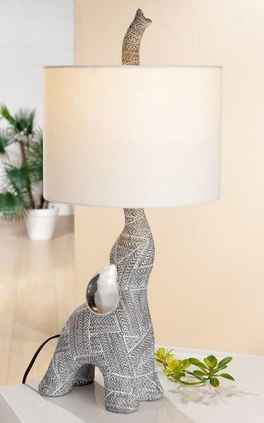 Geniale Tischlampe Elefant Gold Schwarz 41cm Elephant Lampe Tischleuchte