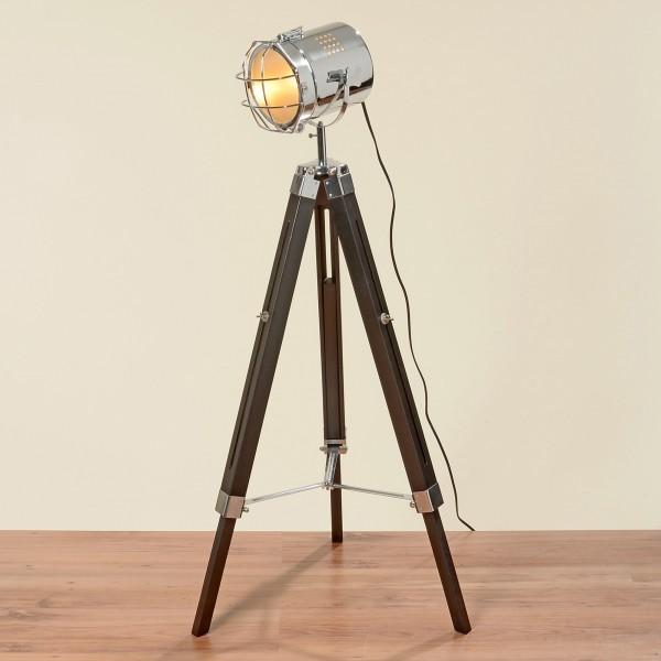 Studiolampe mit maximal 144cm Höhe Teleskoplampe Spotlampe