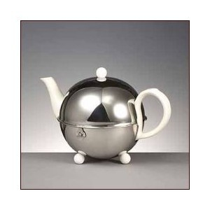 Bredemeijer Teekanne Cosy Weiß 0,5 Liter Kaffeekanne Neu 1a Ware