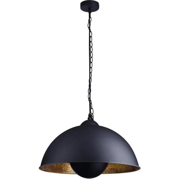 Hängelampe Studio goldener Schirm Gold Deckenlampe Hängeleuchte Lampe Studiolampe